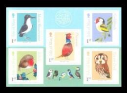 Isle Of Man 2016 Mih. 2138/42 Fauna. Birds (self-adhesive) MNH ** - Man (Eiland)