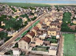 BEAUCHAMP (95) - CPSM  - En Avion Au Dessus De ... La Chaussée Jules César, Quartier Du Clos Boissy - Beauchamp