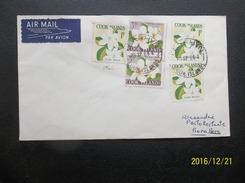 Cook Islands: 1966 Air Cover To Bora Bora (#HK4)