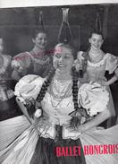 HONGRIE-BALLET HONGROIS-1957-TZIGANE-REZSO VARJASI-MIKLOS RABAI-ISTVAN ALBERT-LASZLO GULYAS-GABOR BAROSS-RICCI RITZ - Programmi
