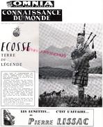 87 - LIMOGES-CONNAISSANCE DU MONDE- CINEMA OMNIA- ECOSSE- LISSAC- GALAPAGOS-GLAMIS CASTLE- GRETNA GREEN-ECLAIREURS - Programs