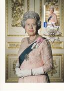 Australia 2015 Maxicard $2.75 Queen Elizabeth II, 2002 - Longest Reigning British Monarch - Cartes-Maximum (CM)