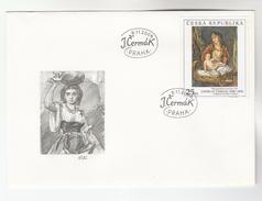 2006 CZECH REPUBLIC FDC  Art JAROSLAV CERMAK Stamps Cover - FDC