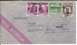 R-Brief Lima 29.10.47 Nach Horgen CH - Peru