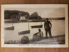 Moelan Sur Mer.le Belon.passage Et Passeurs - Moëlan-sur-Mer