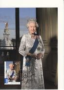 Australia 2015 Maxicard $2.75 Queen Elizabeth II, 2012 - Longest Reigning British Monarch - Cartes-Maximum (CM)