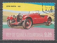 Equatorial Guinea 1977, Scott #7725 Aston Martin, 1933 (U) - Guinée Equatoriale
