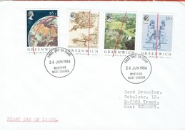GREAT BRITAIN FDC FROM 1984 - 1981-1990 Decimale Uitgaven