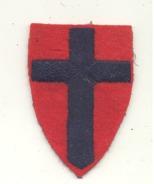 Armée Britannique - British Army - Ecusson Tissu Brodé D'un Corps D'armée ? - Ecussons Tissu