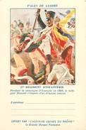 PIE 16-5414 : CARTE FRANCHISE MILITAIRE  PAGES GLOIRE  ASPIRINE RHONE. 27° REGT INFANTERIE CAMPAGNE ESPAGNE DUMONT - Marcofilia (sobres)