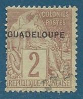 Guadeloupe     - Yvert N°  15 Oblitéré     -  Cw 13928 - Guadeloupe (1884-1947)