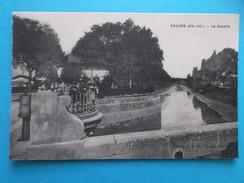 17 : SAUJON : LA  SEUDRE , C.P .A.,carte En Très Bon état, Animée - Saujon