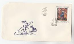 1975 CZECHOSLOVAKIA FDC Art JOSEF CAPEK Stamps Cover - FDC