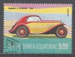 Equatorial Guinea 1977, Scott #7728 Panhard & Levassor, 1934 (U) - Guinée Equatoriale