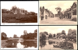 5 X OLD CARD ( 2 Photo Cards ) *** PANGBOURNE WHITCHURCH - Mill - Cottages - Nautical Collage - Bridge - Village - Inghilterra