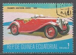 Equatorial Guinea 1977, Scott #7731 Triumph Southern Cross, 1935 (U) - Guinée Equatoriale
