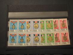 TRINIDAD E TOBAGO - 1973 MEDAGLIE 4 VALORI, In Quartina(block Of Four) - NUOVI(++) - Trindad & Tobago (1962-...)