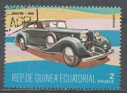 Equatorial Guinea 1977, Scott #7732 Railton, 1936 (U) - Guinée Equatoriale