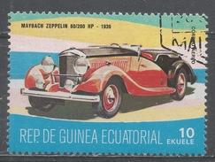 Equatorial Guinea 1977, Scott #7734 Maybach Zeppelin 60/200 HP, 1936 (U) - Guinée Equatoriale
