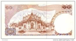 THAILAND  P. 83a 10 B 1969 UNC (s. 42) - Thaïlande