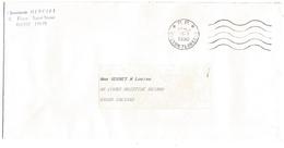 OBLITERATION MECANIQUE PORT PAYE DE LYON TERREAUX 1990 - Marcophilie (Lettres)