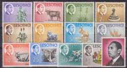 LESOTHO 1968 NATIONAL PRODUCTS MNH M08699 - Lesotho (1966-...)