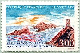 N° Yvert & Tellier 3019 - Timbre De France (1996) - MNH - Vue Des Îles Sanguinaires - Ongebruikt