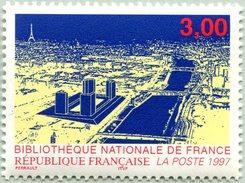 N° Yvert & Tellier 3041 - Timbre De France (1996) - MNH - Bibliothèque Nationale De France - Ongebruikt