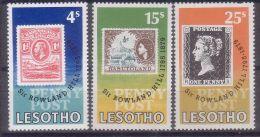 LESOTHO 1979 100TH DEATH ANNIV. OF SIR ROWLAND HILL MNH M08732 - Lesotho (1966-...)