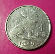 Belgium 1 Franc 1939 - 1934-1945: Leopold III