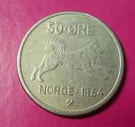 Norway 50 Ore 1964 - Noruega