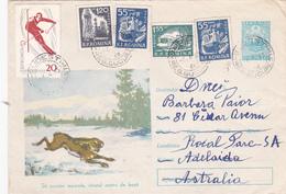 Romania 1965 Cover Sent To Australia ,transport - 1948-.... Republics
