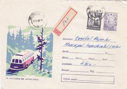Romania 1968 Registered Cover - 1948-.... Republics