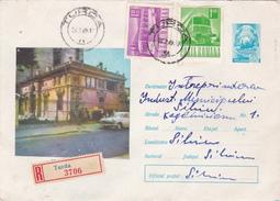 Romania 1969 Registered Cover Sent To Australia .Transports - 1948-.... Republics