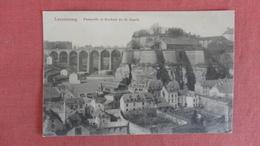 Luxembourg >   Passerelle Et Rochers Du St Esprit  Ref 2440 - Postcards
