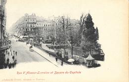 Toulouse - Rue Alsace-Lorraine Et Square Du Capitole - Edition Labouche Frères - Carte Précurseur Non Circulée - Toulouse