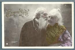 CPA - VIEUX COUPLE - Couples