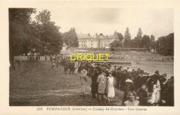19 Pompadour, Le Champ De Courses, Une Course - Autres Communes