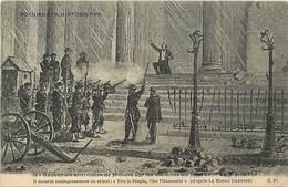 """Paris -ref-B471 - La Commune - Execution De Milliere Au Pantheon - D Apres """"le Monde Illustre """" - - Other"""