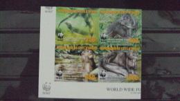 (WWF-375) W.W.F. Ivory Coast Otter MNH Imperf 1st Print Stamps 2005 - W.W.F.