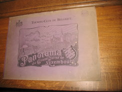 PANORAMA Du GRAND - DUCHE De LUXEMBOURG - Livre , Album Photos Du Touring-Club De Belgique - Cultural