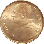 VATICANO. PABLO VI. 500 LIRAS. 1.968. PLATA - Vaticano (Ciudad Del)