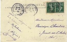 1909- C P A  De MAHELMA   Oblit. Facteur-Boitier  MAHELMA / ALGER  ( Non Signalé Pothion ) RARE - 1877-1920: Semi Modern Period