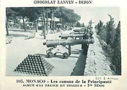 PIE 16-5464 :  CHOCOLAT LANVIN DIJON. IMAGE ALBUM CROKENLER . MONACO. - Chocolate