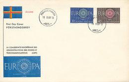 DC00626 - 1960 FDC CEPT - FINLAND - Europa-CEPT