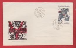 Tchécoslovaquie -  Enveloppe  -  Bratislava  --  25/1/1973 - FDC