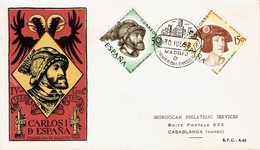 SPAIN  #  FDC FROM 1958  STAMPWORLD 1127-28 - FDC