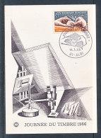 1966 Carte Journée Du Timbre - Albi - FDC