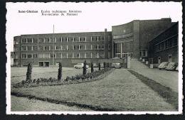 SAINT-GHISLAIN - HAINAUT- BELGIQUE - Ecoles Techniques Féminines Provinciales Du Hainaut - Cpsm - Recto Verso- - Belgique