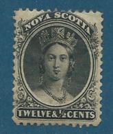 Nouvelle écosse - Yvert N° 10 * ( Gomme Altérée ) - Cw 14001 - Unused Stamps